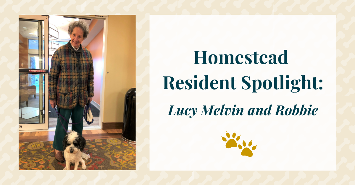 Resident Spotlight: Lucy Melvin and Robbie