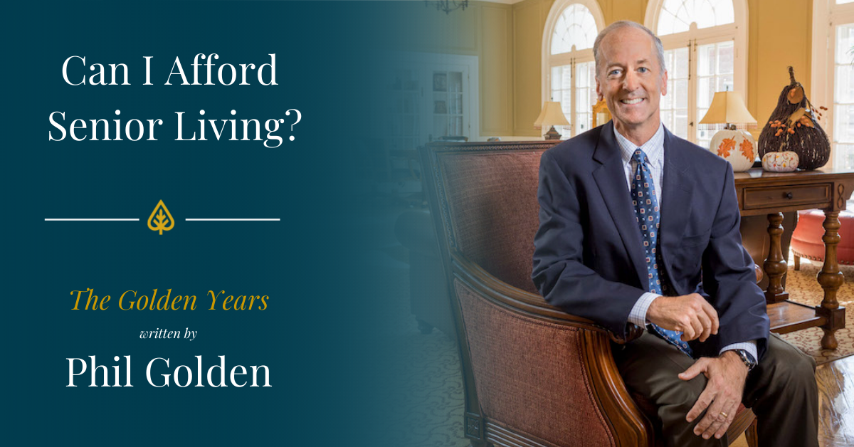The Golden Years: Can I Afford Senior Living?